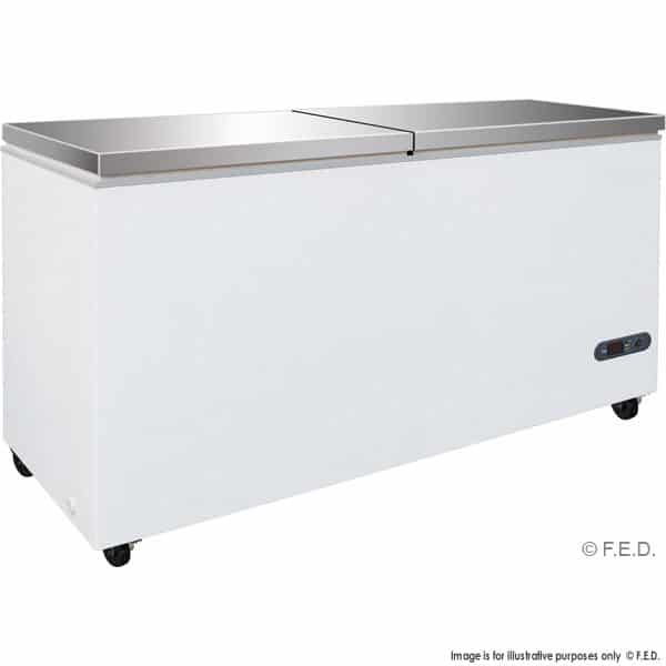 BD768F Chest Freezer with SS lids
